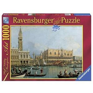 """Ravensburger (15402) - Canaletto: """"Ducal Palace"""" - 1000 pieces puzzle"""