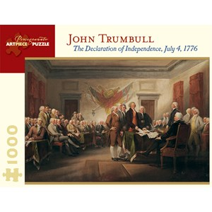 "Pomegranate (AA676) - John Trumbull: ""The Declaration of Independence, July 4, 1776"" - 1000 pieces puzzle"