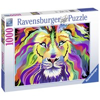 """Ravensburger (19721) - Aimee Stewart: """"King of Technicolor"""" - 1000 pieces puzzle"""