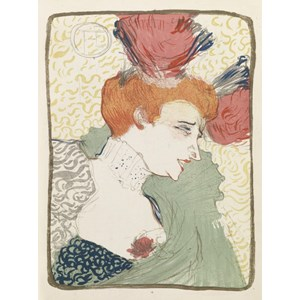 """Grafika (00173) - Henri de Toulouse-Lautrec: """"Mademoiselle Marcelle Lender, 1895"""" - 2000 pieces puzzle"""