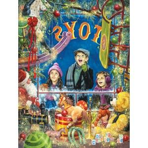 """SunsOut (16992) - Jack Sorenson: """"Christmas Wonder"""" - 300 pieces puzzle"""