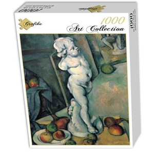 "Grafika (01292) - Paul Cezanne: ""Still Life with Plaster Cupid, 1895"" - 1000 pieces puzzle"