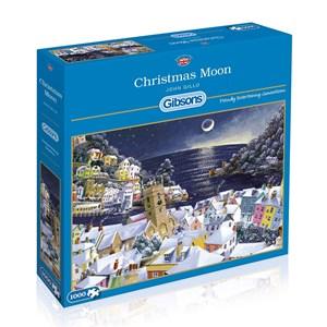 "Gibsons (G6198) - John Gillo: ""Christmas Moon"" - 1000 pieces puzzle"