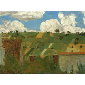 """Grafika (01812) - Edouard Vuillard: """"Landscape of the Ile-de-France, 1894"""" - 2000 pieces puzzle"""