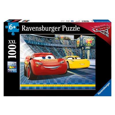 """Ravensburger (10851) - """"Cars 3"""" - 100 pieces puzzle"""