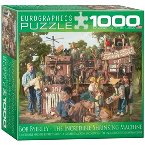 """Eurographics (8000-0445) - Bob Byerley: """"Incredible Shrinking Machine"""" - 1000 pieces puzzle"""