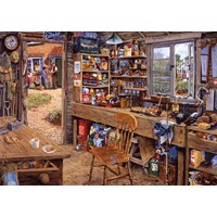 "Ravensburger (14859) - ""Dad's Shed"" - 500 pieces puzzle"