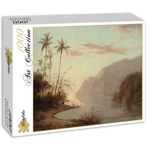 "Grafika (02016) - Camille Pissarro: ""Creek in St. Thomas, Virgin Islands, 1856"" - 1000 pieces puzzle"