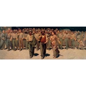 """Ravensburger (19006) - Giuseppe Pellizza da Volpedo: """"Il Quarto Stato, 1901"""" - 1000 pieces puzzle"""