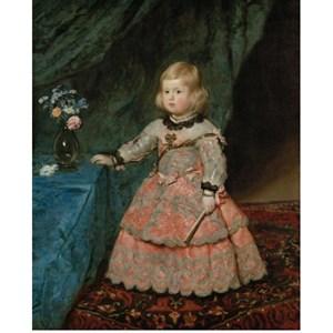"Piatnik (540240) - Diego Velázquez: ""Infantin Margarita Teresa"" - 1000 pieces puzzle"