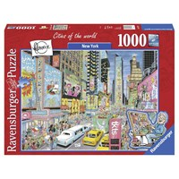 "Ravensburger (19732) - ""New York"" - 1000 pieces puzzle"