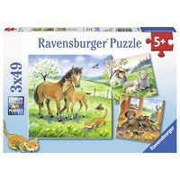 "Ravensburger (08029) - ""Cuddling"" - 49 pieces puzzle"