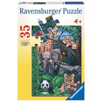 "Ravensburger (08601) - ""Animal Kingdom"" - 35 pieces puzzle"