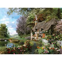"Ravensburger (16202) - Dominic Davison: ""Country Cottage"" - 1500 pieces puzzle"