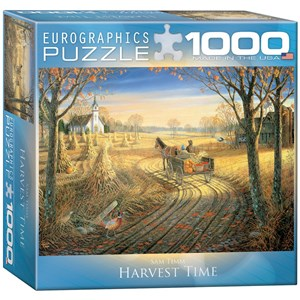"Eurographics (8000-0606) - Sam Timm: ""Harvest Time"" - 1000 pieces puzzle"