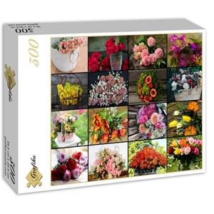 """Grafika (02568) - """"Flowers"""" - 300 pieces puzzle"""