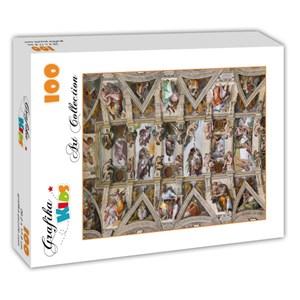 """Grafika Kids (00077) - Michelangelo: """"Sistine Chapel"""" - 100 pieces puzzle"""