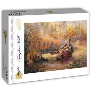 "Grafika (T-00261) - Josephine Wall: ""Dreams of Camelot"" - 1500 pieces puzzle"