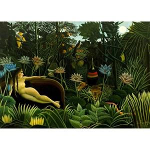 """Grafika Kids (00305) - Henri Rousseau: """"The Dream, 1910"""" - 24 pieces puzzle"""