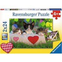"Ravensburger (07801) - ""Cats"" - 24 pieces puzzle"