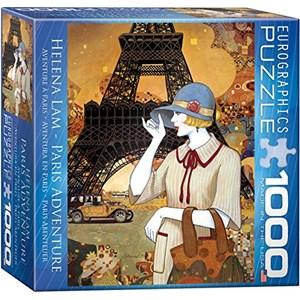 "Eurographics (8000-0517) - Helena Lam: ""Paris Adventure"" - 1000 pieces puzzle"