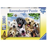"Ravensburger (13228) - Howard Robinson: ""Delighted Dogs"" - 300 pieces puzzle"