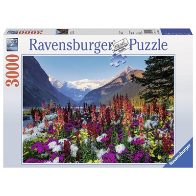 "Ravensburger (17061) - ""Flowered mountains"" - 3000 pieces puzzle"