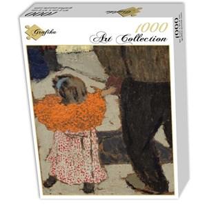 "Grafika (01810) - Edouard Vuillard: ""Child Wearing a Red Scarf, 1891"" - 1000 pieces puzzle"