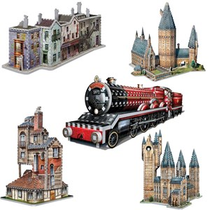 "Wrebbit (Wrebbit-Set-Harry-Potter-3) - ""Harry Potter Set"" - 3050 pieces puzzle"