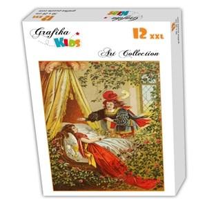 "Grafika Kids (00116) - Carl Offterdinger: ""Sleeping Beauty"" - 12 pieces puzzle"
