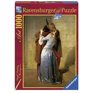 """Ravensburger (15405) - Francesco Hayez: """"The Kiss"""" - 1000 pieces puzzle"""