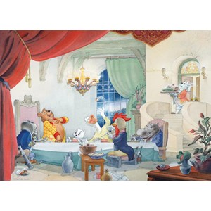 "PuzzelMan (456) - Marten Toonder: ""A table"" - 1000 pieces puzzle"