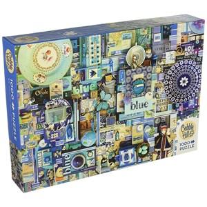"""Cobble Hill (51865) - Shelley Davies: """"Blue"""" - 1000 pieces puzzle"""