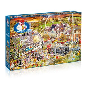 """Gibsons (G7084) - Mike Jupp: """"I Love Autumn"""" - 1000 pieces puzzle"""