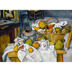 "Puzzle Michele Wilson (W41-24) - Paul Cezanne: ""Still Life"" - 24 pieces puzzle"