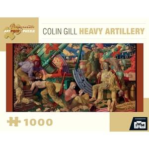 "Pomegranate (AA843) - Colin Gill: ""Heavy Artillery"" - 1000 pieces puzzle"