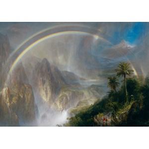 "Grafika (00239) - Fredric Church: ""Rainy Season in the Tropics"" - 1000 pieces puzzle"