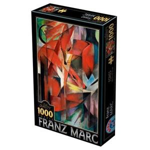 """D-Toys (72856-MA01) - Franz Marc: """"Foxes"""" - 1000 pieces puzzle"""