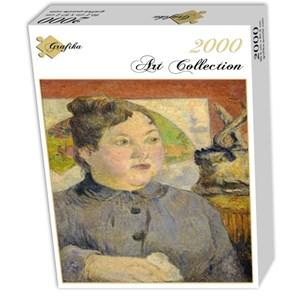 """Grafika (01844) - Paul Gauguin: """"Madame Alexandre Kohler, 1887-1888"""" - 2000 pieces puzzle"""