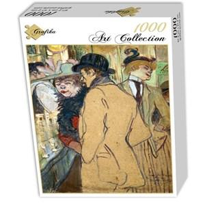 """Grafika (01992) - Henri de Toulouse-Lautrec: """"Alfred la Guigne, 1894"""" - 1000 pieces puzzle"""