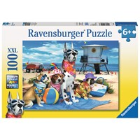 "Ravensburger (10526) - Howard Robinson: ""No Dogs on the Beach"" - 100 pieces puzzle"