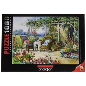 """Anatolian (1001) - Barbara Mock: """"Sunny Morning"""" - 1000 pieces puzzle"""