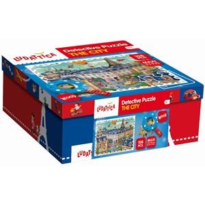 "Ludattica (52462) - ""City"" - 108 pieces puzzle"