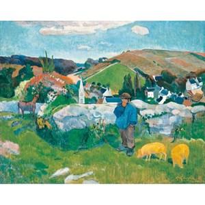 """Puzzle Michele Wilson (A462-500) - Paul Gauguin: """"Le Porcher"""" - 500 pieces puzzle"""