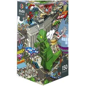 """Heye (29480) - eBoy: """"Berlin"""" - 150 pieces puzzle"""
