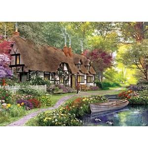"""KS Games (11354) - Dominic Davison: """"Cottage"""" - 1000 pieces puzzle"""