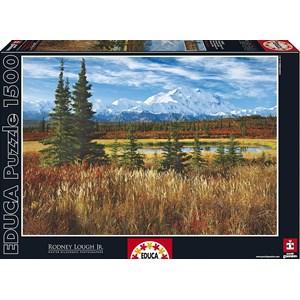 """Educa (16008) - Rodney Lough Jr.: """"Denali National Park"""" - 1500 pieces puzzle"""