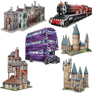 "Wrebbit (Wrebbit-Set-Harry-Potter-2) - ""Harry Potter Set"" - 3330 pieces puzzle"