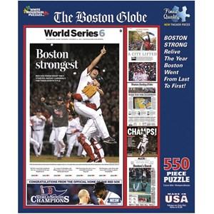 """White Mountain (1045) - """"Boston Strongest"""" - 550 pieces puzzle"""
