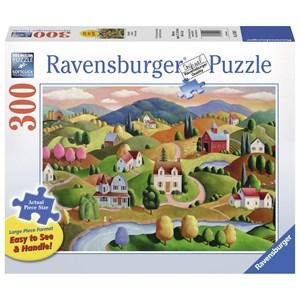 """Ravensburger (13583) - Steve Klein: """"Rolling Hills"""" - 300 pieces puzzle"""